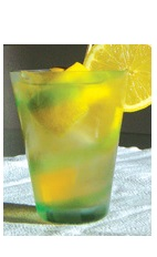 The Lemon Caipirinha drink recipe is another fruity variation of the classic Brazilian national drink. Made from Boca Loca cachaca, lemon and sugar, and served over ice in a highball glass.