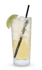 The Lemonade Cruzan is a clear drink made from Cruzan light rum, lime juice and lemon-lime soda, and served over ice in a highball glass.