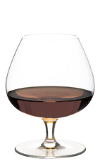 The Level Headed Cocktail recipe is made from Clement VSOP rum, sugar syrup, coffee, bitters and St. Elizabeth allspice dram, and served in a brandy snifter.