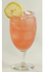 The Light Crancherry Breeze is a skinny cocktail made from Effen black cherry vodka, Crystal Light lemonade and Ocean Spray light cranberry juice, and served over ice in a parfait or other stemmed glass.