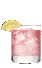 The Loopade is a fun and crazy variation of the boring old lemonade drink recipe. A pink colored drink made from Three Olives Loopy vodka, lemonade and grenadine, and served over ice in a rocks glass.