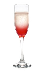 The Malibu Bellini is a tropical variation of the classic Bellini cocktail recipe, perfectly suited to serve as a wedding cocktail. A pink colored cocktail made from Malibu coconut rum, raspberries and sparkling wine, and served in a chilled cocktail glass.