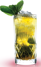 The Mandarine Mojito is a French variation of the classic Mojito drink. A premium summer cocktail made from Mandarine Napoleon orange liqueur, light rum, lime juice, mint and club soda, and served over ice in a highball glass.