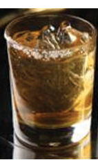 The Maple Madness is a gourmet cocktail recipe made from Flor de Cana 7-year old rum, maple syrup, liquid smoke and served in a salt-rimmed rocks glass.