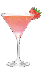 The Marilyn's Kiss cocktail recipe is a sexy expression of your wilder side. A red colored drink made from Three Olives Marilyn Monroe strawberry vodka and grenadine, and served in a chilled cocktail glass.