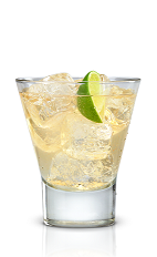 The Mexican Mule is a twist on the classic Moscow Mule drink. An amber colored drink made from New Amsterdam vodka, Tabasco sauce and ginger ale, and served over ice in a rocks glass.