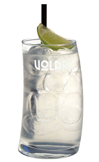 The Mint Iced Tea cocktail recipe is made from Volare Peppermint liqueur, vodka, rum, gin, sweet and sour mix and Sprite, and served over ice in a highball glass garnished with a lime wedge.