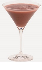 The Mocha Martini cocktail recipe is perfectly suited to serve as a dessert cocktail, or in place of your morning coffee on a Saturday morning. A brown colored cocktail made from Burnett's espresso vodka, chocolate liqueur and chilled espresso, and served in a chilled cocktail glass.