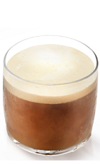 The Molinari White Russian is an Italian variation of the classic White Russian cocktail. A brown drink made from Molinari sambuca, vodka and heavy cream, and served over ice in a rocks glass.