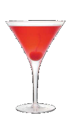 The Mon Cheri is an exquisite dessert cocktail recipe that pairs well with chocolate cake or other delights. A red colored drink made from Three Olives cherry vodka, chocolate vodka and grenadine, and served in a chilled cocktail glass.