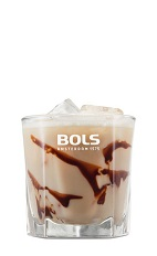 The Mudslide is a classic dessert drink served with cake or any other sweet. A brown drink made from vodka, coffee liqueur, Irish cream liqueur and chocolate syrup, and served over ice in a rocks glass.