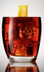 An alternative to the classic Negroni drink recipe is always on our radar, but this one is made in the classic way with classic ingredients, yet by using award winning G'Vine Floraison it is by all means the best we have tasted. Made from gin, Campari and sweet vermouth, and served over ice in a rocks glass.