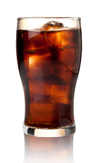 The Nelson's Lady drink recipe is a brown colored cocktail made from Admiral Nelson's cherry spiced rum and cherry cola, and served over ice in a highball glass.