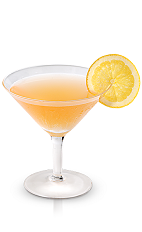 The New Amsterdam Marmalade is an peach colored drink made from New Amsterdam gin, orange marmalade, grenadine and orange, and served in a chilled cocktail glass.