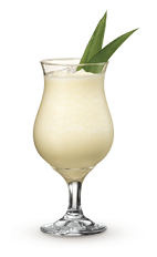 The Orange Colada drink recipe is made from Cruzan Orange rum, orange juice and pina colada mix, and served blended in a chilled hurricane glass.