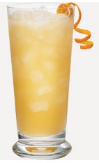 The Original Hawaiian Punch drink recipe is made from Burnett's fruit punch vodka, pineapple juice and lemon-lime soda, and served over ice in a highball glass.