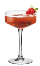 Forget all the pomp and circumstance at your party, instead settle for PAMA and Circumstance. A red colored cocktail recipe made from PAMA pomegranate liqueur, vodka, Hpnotiq liqueur, simple syrup and cranberry juice, and served in a chilled cocktail glass.