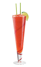 Once you try a PAMA Daiquiri, you will never make a plain old daiquiri again. The PAMA Daiquiri recipe is made from PAMA pomegranate liqueur, white rum and sweet & sour mix blended with ice, and served in a hurricane or other tall glass.