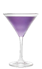 The Peep-a-tini could turn you into a voyeur, or at least a little risqué when in the right company. A purple colored cocktail recipe made from Three Olives grape vodka, grape juice and lemon-lime soda, and served in a chilled cocktail glass.