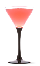 The Pink Squirrel is a classic cocktail recipe made from dark crème de cacao, hazelnut liqueur and half-and-half, and served in a chilled cocktail glass.