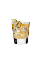 The Prisoner Ale is made from Big House Tupelo honey bourbon, ginger ale, cola and lime, and served over ice in a rocks glass.