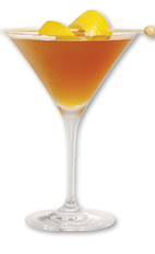 The Prohibition Era Manhattan is a classic American cocktail made from Wild Turkey, dry vermouth and bitters, and served in a chilled cocktail glass.