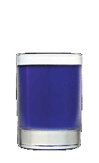 The Purple People Eater is a lively fruity flavored drink recipe perfect for any day of the year. A purple colored cocktail made from Three Olives Purple vodka, peach schnapps and cranberry juice, and served over ice in a rocks glass.