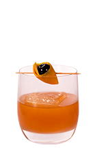 The Q Old Fashioned drink recipe is a rum-based variation of the classic Old Fashioned cocktail. Made from Don Q Grand Anejo rum, bitters, sugar, club soda and cherry, and served over ice in a rocks glass.