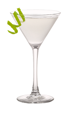 The Raspberry Gimlet is a modern variation of the classic Gimlet cocktail. Made from Smirnoff raspberry vodka, lime and lime juice, and served in a chilled cocktail glass.