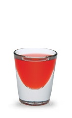 The Raspberry Kamikaze is a variation of the classic Kamikaze drink. A red shot made form raspberry schnapps, vodka and lime juice, and served in a chilled shot glass.