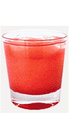The Raspberry Pucker is a sharp tasting red colored drink recipe guaranteed to make anyone pucker up. Made from Burnett's raspberry vodka, cherry juice and grapefruit juice, and served over ice in a rocks glass.