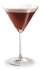 The Razztini is a red colored drink made from Razzmatazz raspberry schnapps and vodka, and served in a chilled cocktail glass.