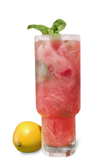 The Rhubarb Ginger Cooler is a relaxing red colored drink recipe made form Gran Gala Triple Orange liqueur, vodka, strawberry, mint, lemon juice, tea, prosecco and rhubarb-ginger compote, and served over ice in a highball glass.