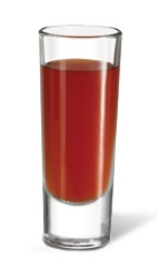 The Sangrita is a virgin variation of the classic Bloody Mary and Sangria combined in a shot. A red shot made from tomato juice, orange juice, lime juice, grenadine, Tabasco sauce and Worcestershire sauce, and served in a chilled shot glass. Recipe serves 6.