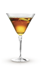 The Single and Stormy cocktail recipe is made from Cruzan Single Barrel rum, ginger beer and lime, and served in a chilled cocktail glass.