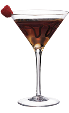 When the siren calls, reply in style and cast her under your spell. The Siren's Call cocktail recipe is made from Kamora coffee liqueur, raspberry vodka and raspberry schnapps, and served in a chilled cocktail glass garnished with chocolate syrup and raspberry.