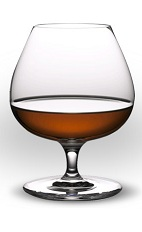 The Snifter of Reserva drink is a simple drink with complex flavors brought on by serving in a brandy snifter.