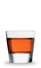 The Snow Shoe is a fruity and vibrant shot made from blackberry brandy and peppermint schnapps, and served in a chilled shot glass.