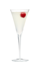 The Sparkling Pomegranate cocktail is made from Smirnoff Sorbet Raspberry Pomegranate vodka, lemon juice, simple syrup and prosecco or champagne, and served in a chilled champagne glass.
