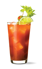 The Sriracha Bloody Mary is a spicy variation of the classic Bloody Mary drink recipe. A red colored drink made from UV Sriracha vodka and bloody Mary mix, and served over ice in a highball glass.
