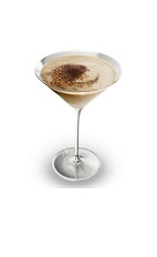 The St Patrick's Spiced Martini is a brown-colored cocktail perfect for St. Patrick's Day. Made from an aromatic blend of Bailey's Irish cream and pumpkin spice, and served in a chilled cocktail glass.