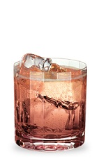 The Strawberry Rum is made from strawberry schnapps, rum and lemon-lime soda, and served over ice in a rocks glass.
