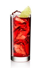 The Summer Gin and Cranberry is a rich red drink made from Beefeater gin, lime and cranberry juice, and served over ice in a highball glass.