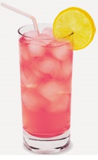 Nothing better than watching a beautiful summer sunset with good friends and good drinks. The Sunset drink recipe is a pink colored cocktail made from Burnett's citrus vodka, lemonade and cranberry juice, and served over ice in a highball glass.