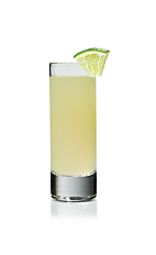 The Sweet and Tart shot is made from Stoli Sticki honey vodka, triple sec and fresh lime juice, and served in a chilled shot glass.