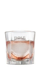 The Pepernoot is an exciting short drink made from Bols Barrel Aged genever, pimento dram, dry vermouth and gingerbread syrup, and served over ice in a rocks glass.