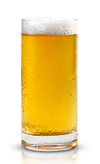 The Tailored Man is a beer-based drink made from New Amsterdam gin, orange liqueur and light beer, and served in a chilled beer glass.