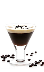 The Trieste Martini Crema cocktail blends the flavors of Gran Gala Triple Orange liqueur, espresso, vodka and light cream to create a unique concoction to serve with your desserts.