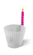 The Birthday Cake shot recipe is made from chilled UV Cake vodka, and served in a shot glass.