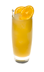 The Vanilla Dream drink is made from Smirnoff Vanilla vodka, orange juice and cranberry juice, and served over ice in a highball glass.